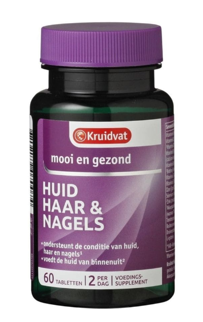 Huid, haar & nagels tabletten Kruidvat - Best Budget Buy 2020 - We Are Eves